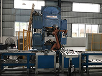 Automatic production line shaping